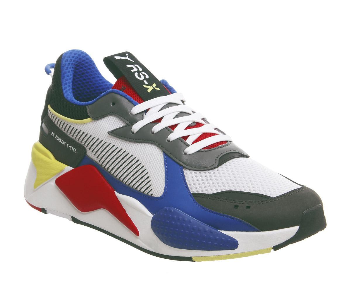 online Niedriger Verkaufspreis Heiß-Verkauf am neuesten Puma Rs-x Toys Trainers Puma White Royal High Risk Red - Sneaker ...
