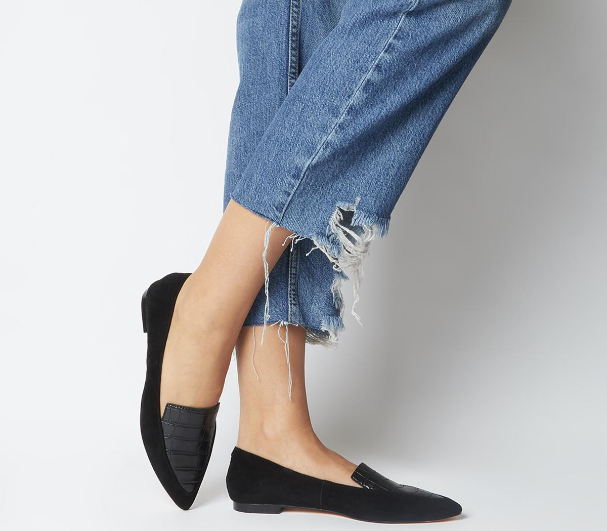 Freddie Pointed Loafers