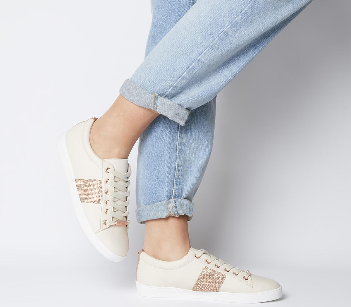 Fling Chain Detail Lace Up Trainers