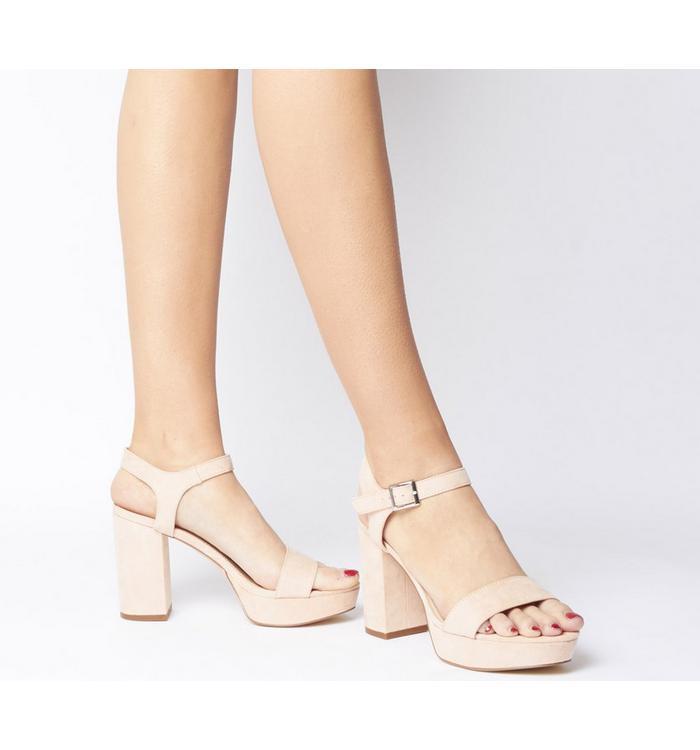 Office Office Must Have Platform Sandal NUDE