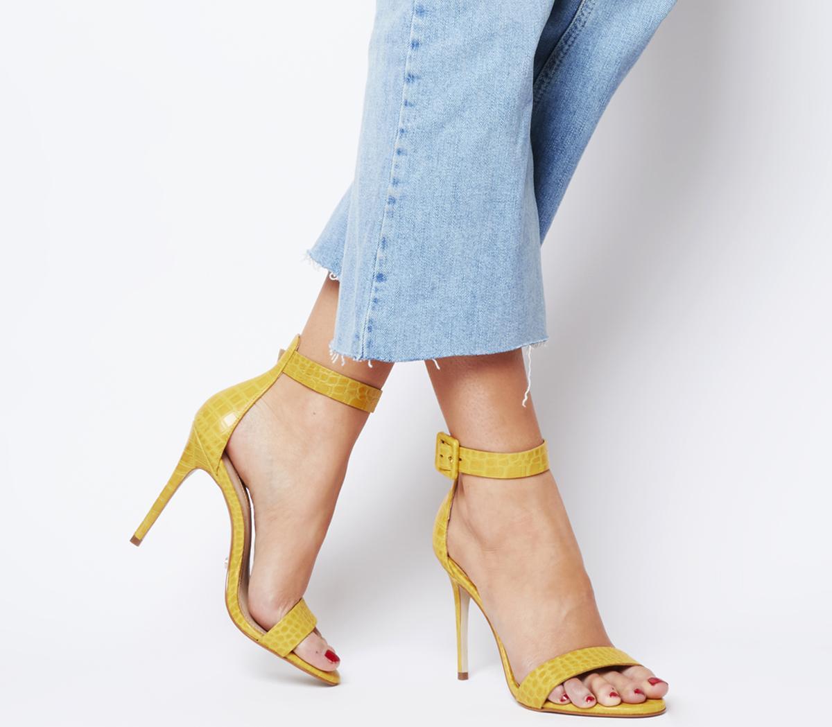 Heart Two Part Sandal Heels