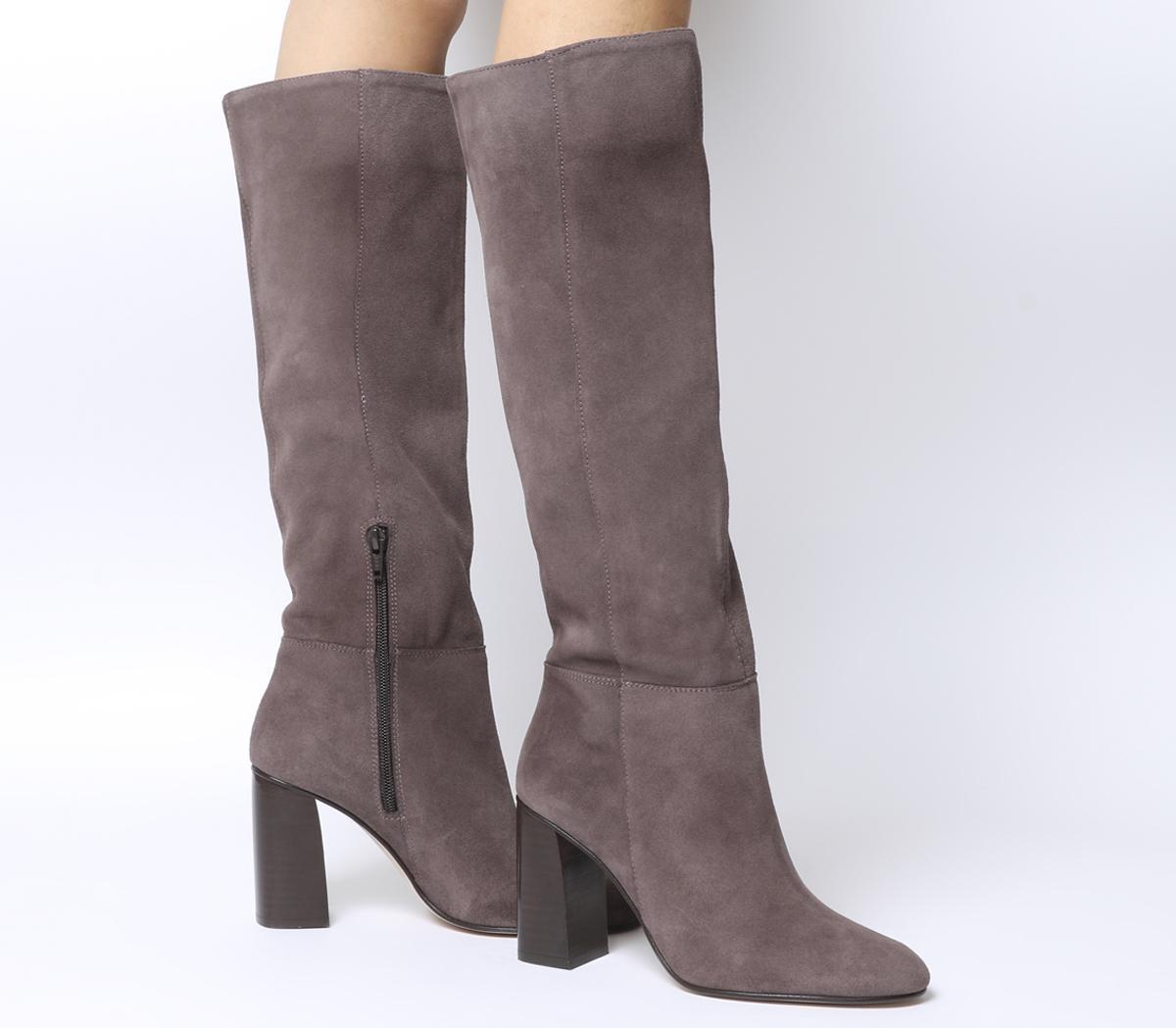 Koko Pull On Block Heel Boots