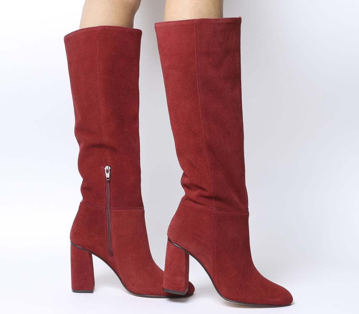 Office Koko Pull On Block Heel Boots
