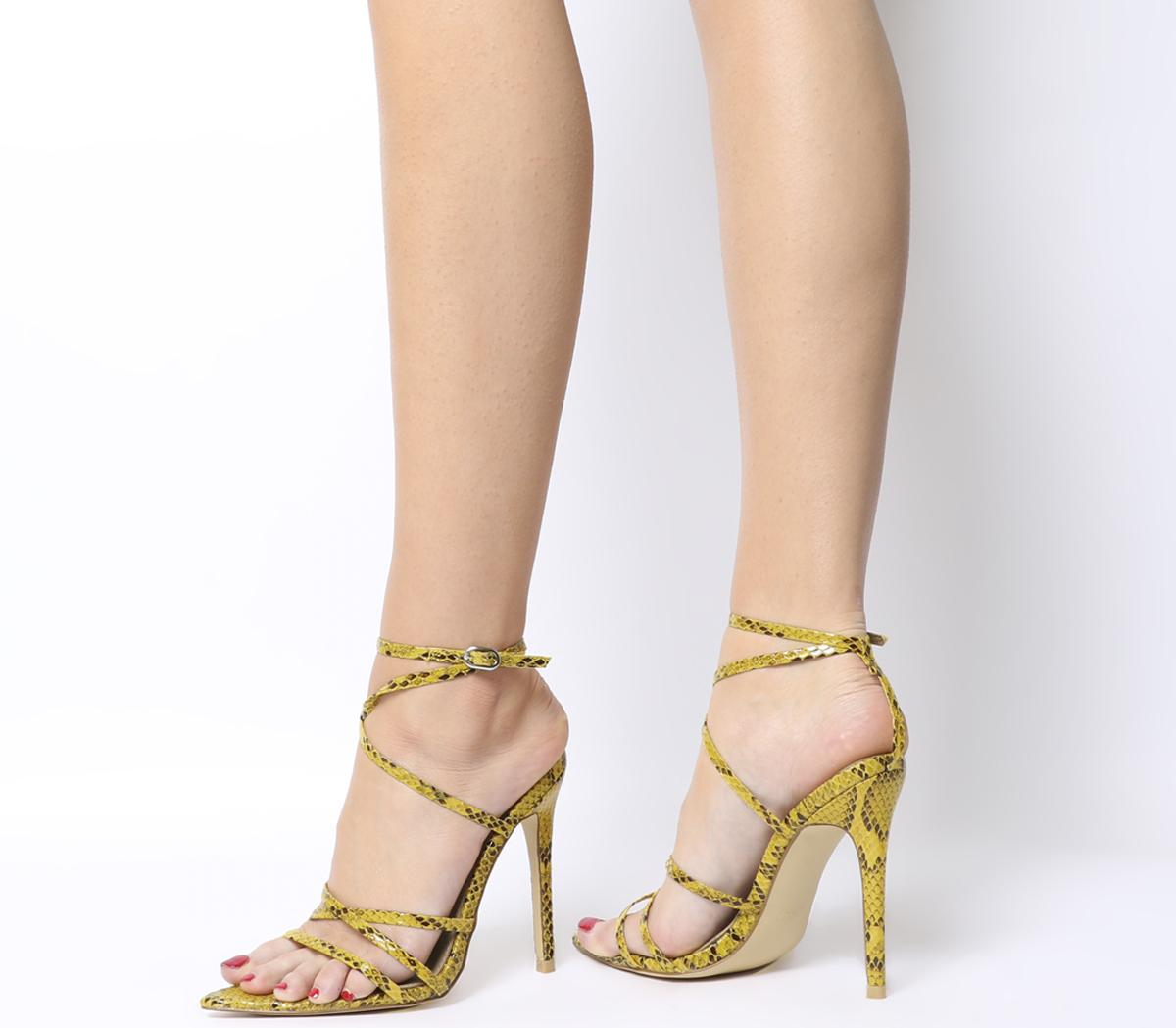 Kaia Strappy Heels by Ego