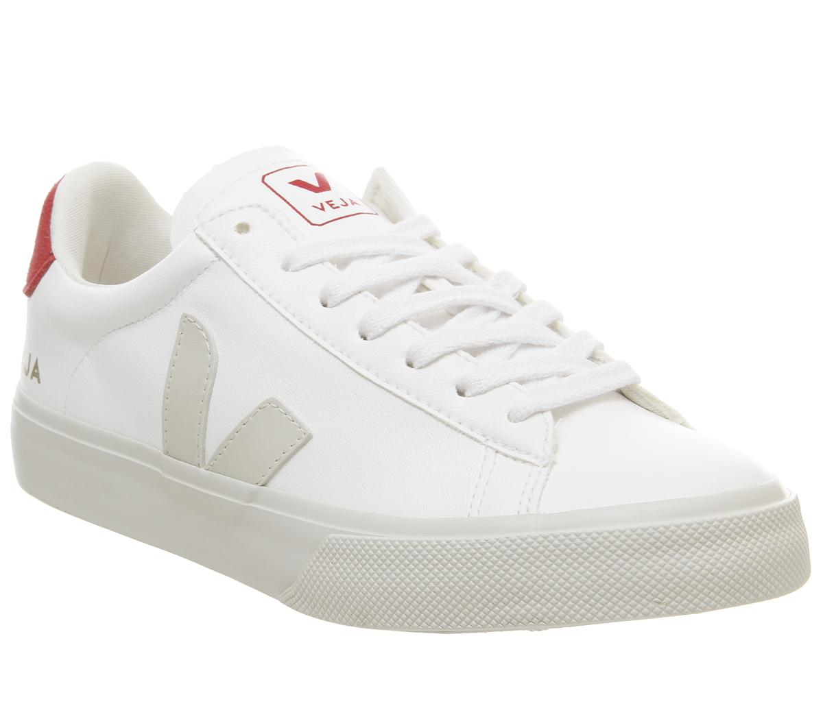 Veja Campo Trainers White Red - His