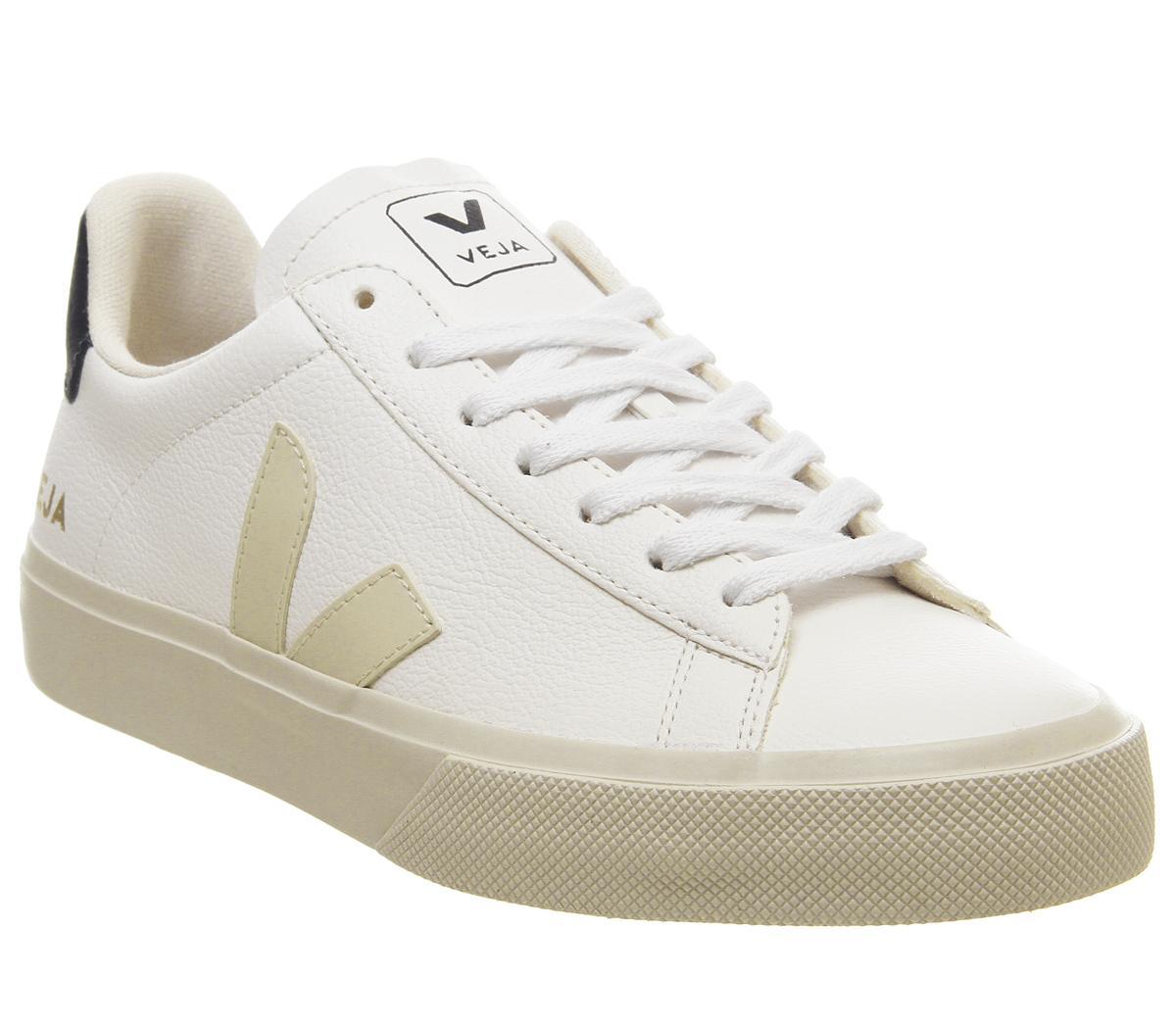 Veja Campo White Nautico Leather F