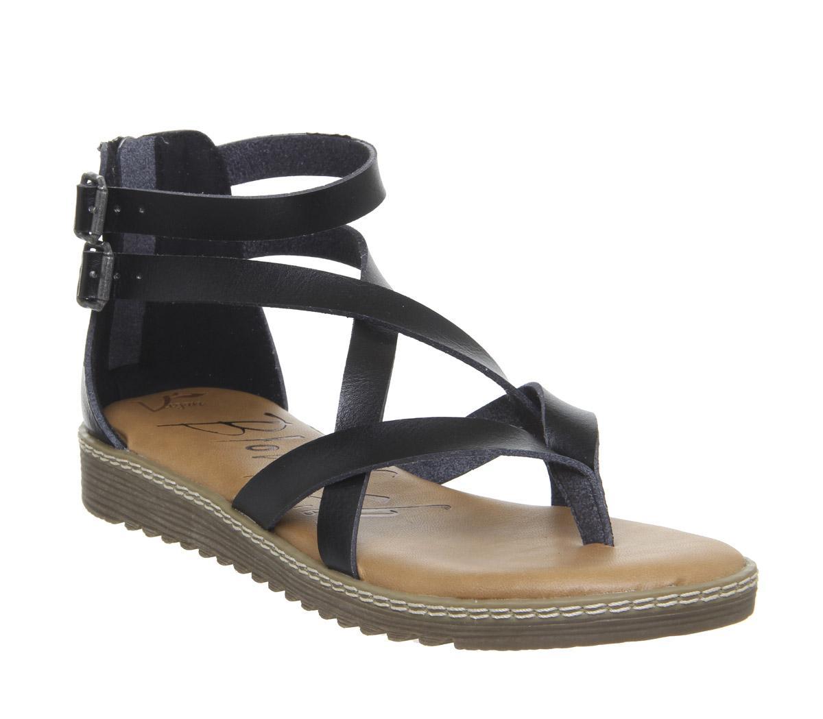 Blowfish Malibu Ohio Sandal Black - Sandals