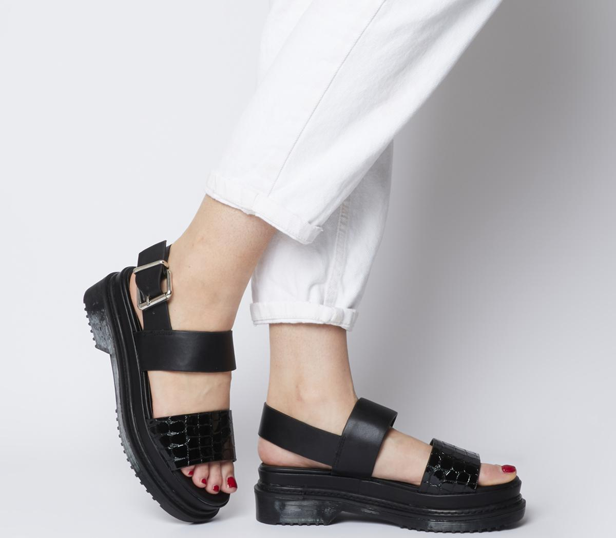Miso Ribbed Sole City Sandals