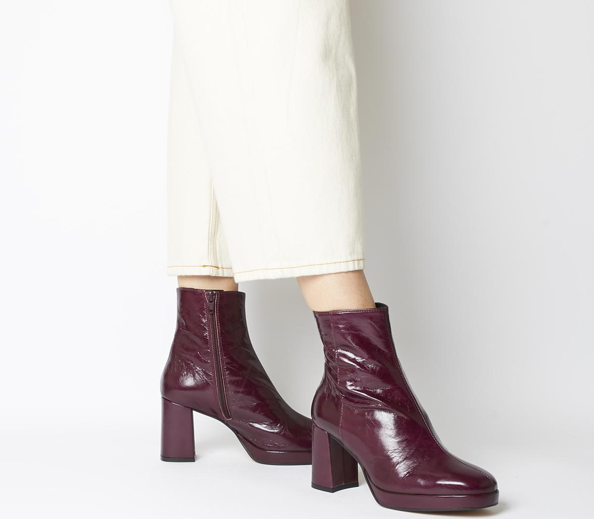 Aquarius Low Platform Boots
