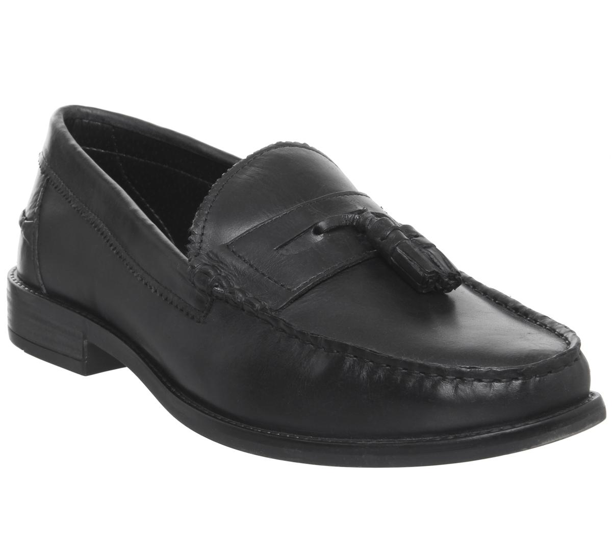 Office Liho Tassel Loafers Black