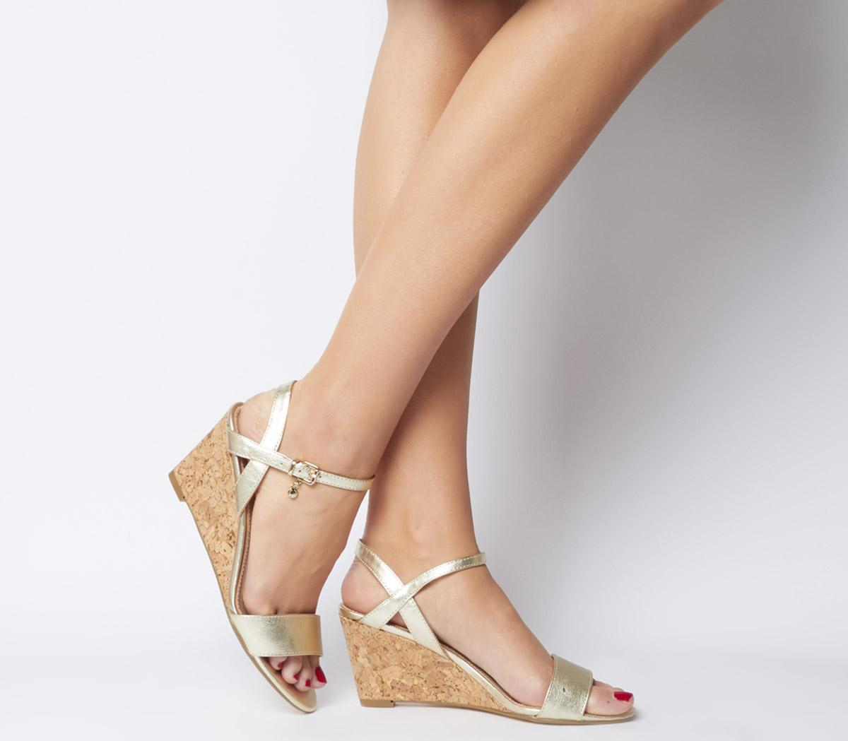 Maxima Low Cork Wedges