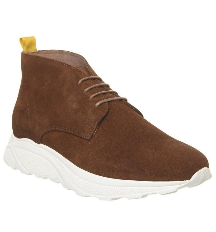 Ask the Missus Ask the Missus Lacrosse Chukka RUST SUEDE
