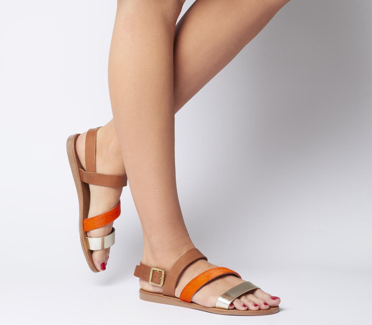 Sweet Heart Asymmetric Sandals