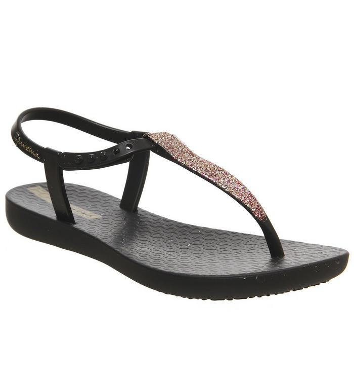 Ipanema Ipanema Charm Glitter Sandal BLACK