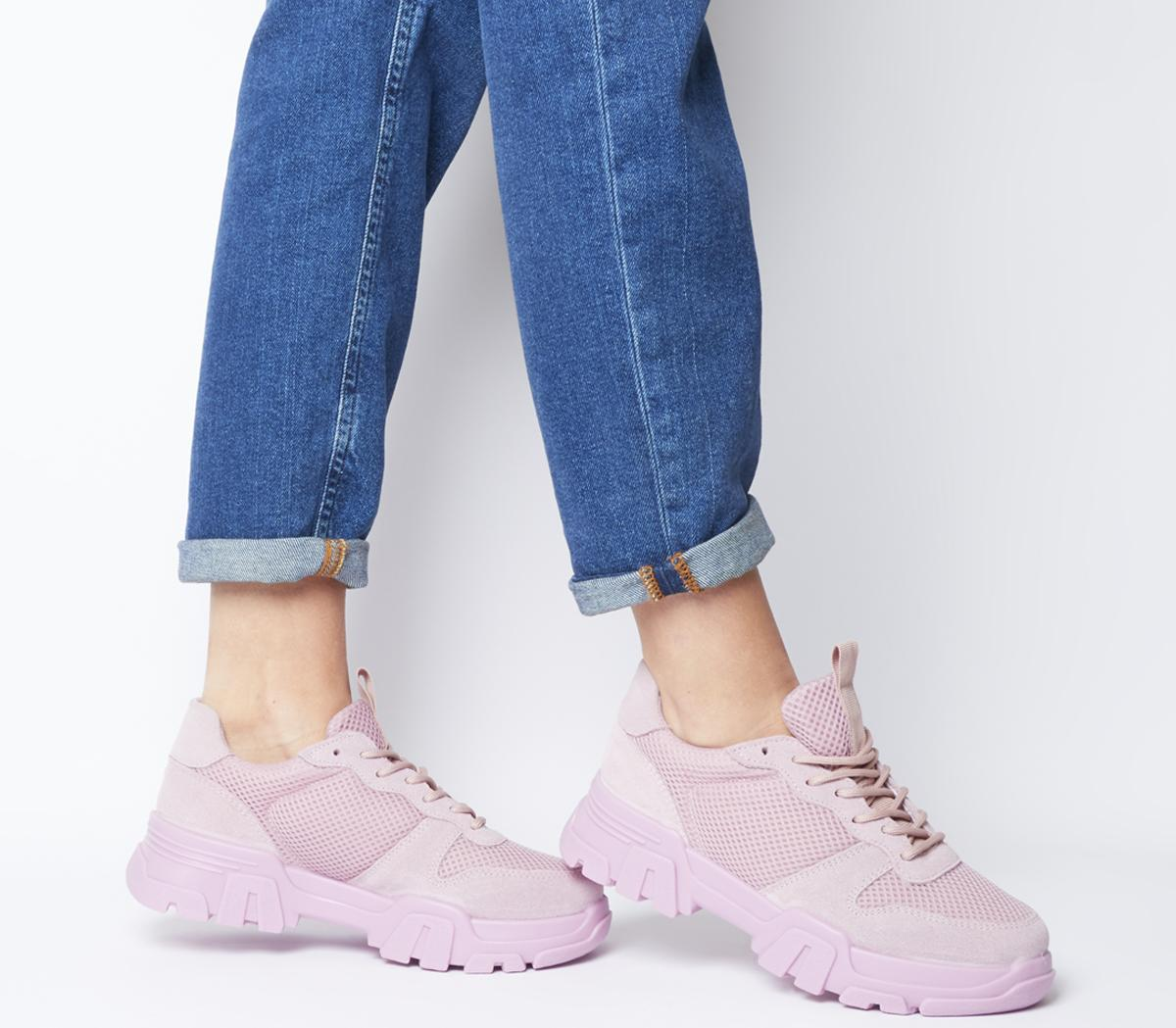 Fast Pace Chunky Lace Up Trainers