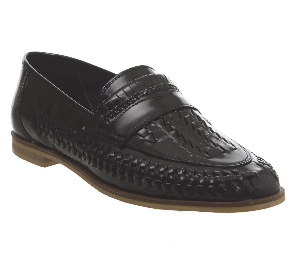 Leyton Weave Slip On Loafers