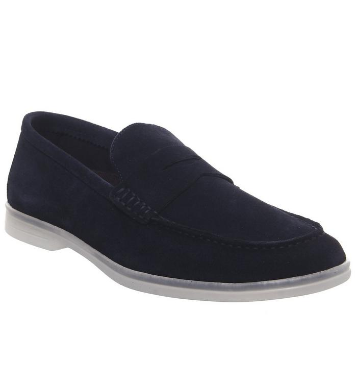 Ask the Missus Ask the Missus Liger Penny Loafer NAVY SUEDE