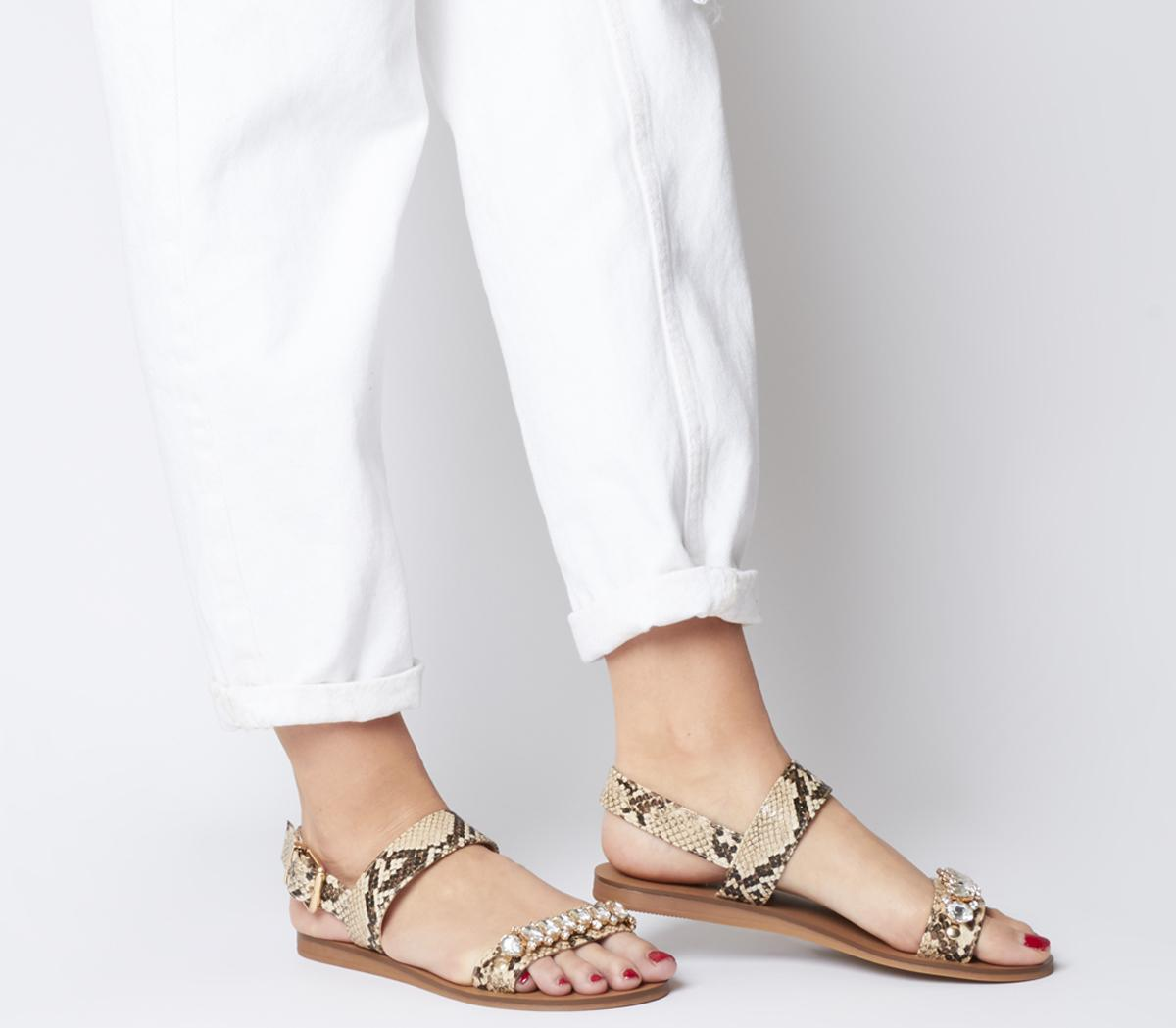 Starfish Embellished Sandals