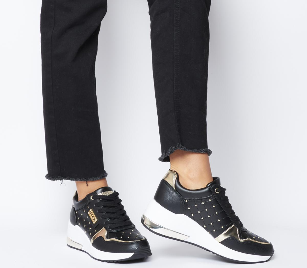 Janetta Quilted Trainers