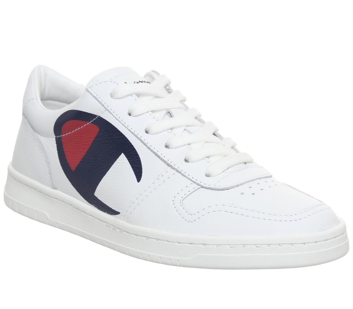 Champion Court Shoe White F - His trainers