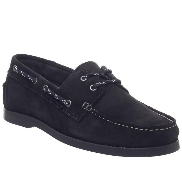Ask the Missus Ask the Missus Latitude Boat Shoe NAVY SUEDE
