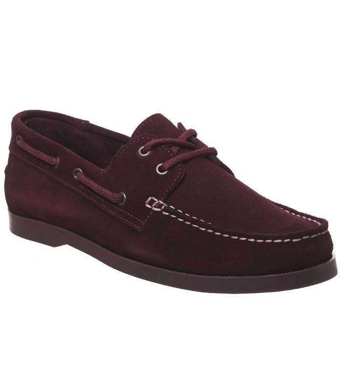 Ask the Missus Ask the Missus Latitude Boat Shoe RED SUEDE