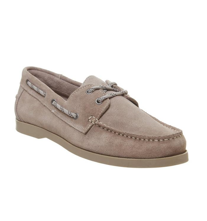 Ask the Missus Ask the Missus Latitude Boat Shoe TAUPE SUEDE