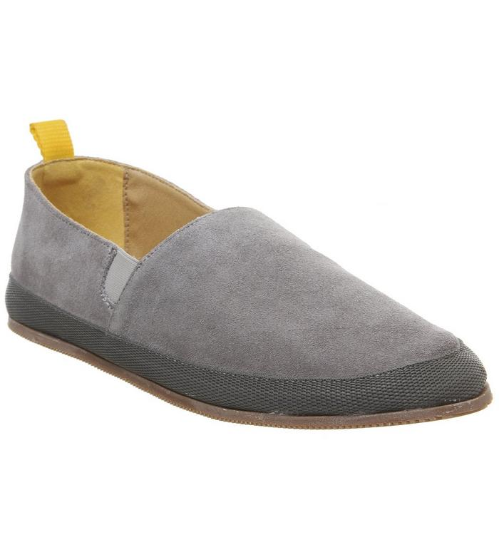 Ask the Missus Ask the Missus Lisbon Espadrille GREY SUEDE