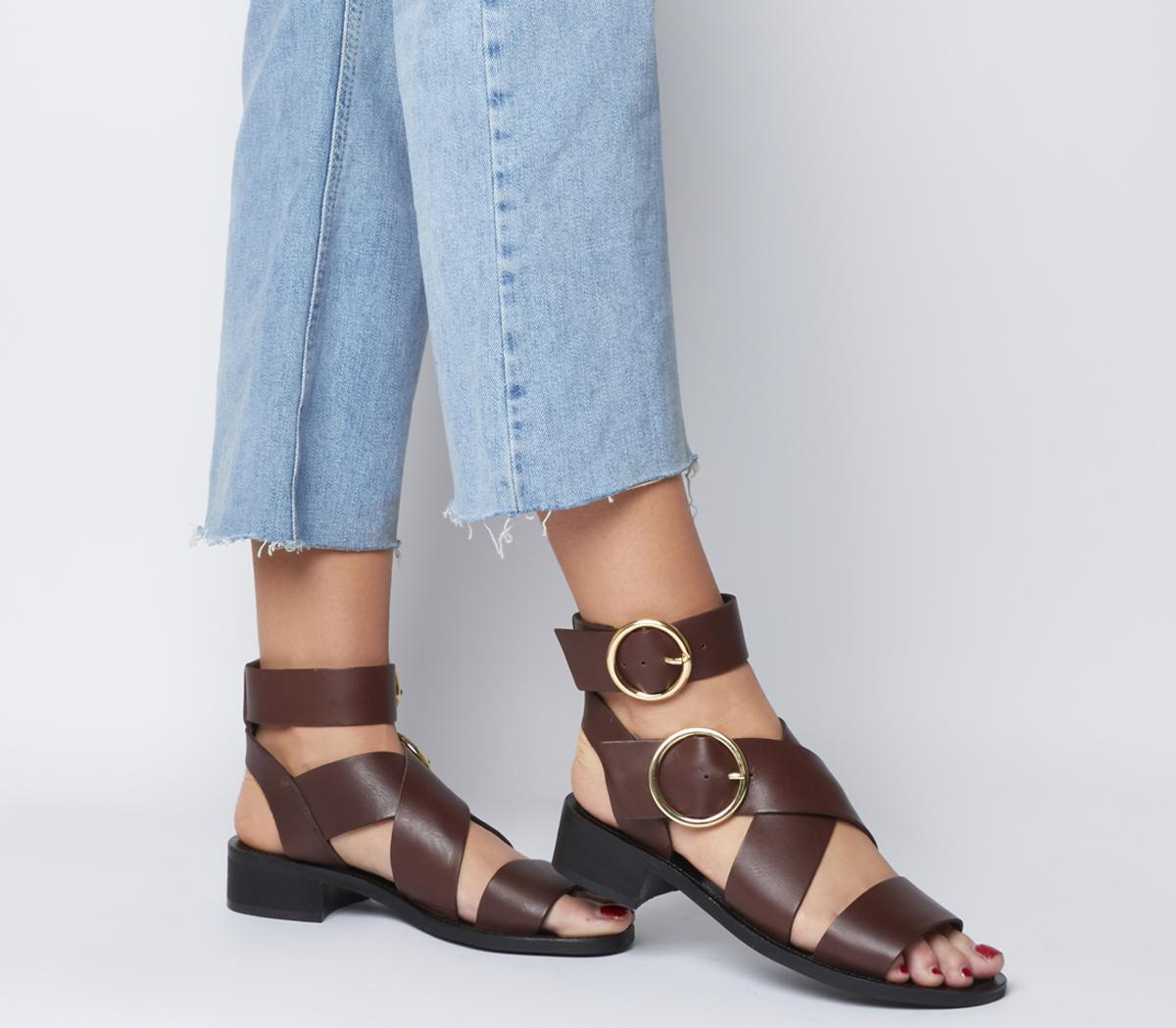 Stormy Double Buckle Sandals