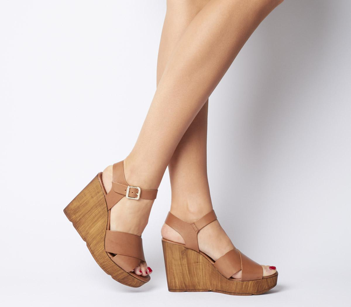 Mirage Square Toe Wedges