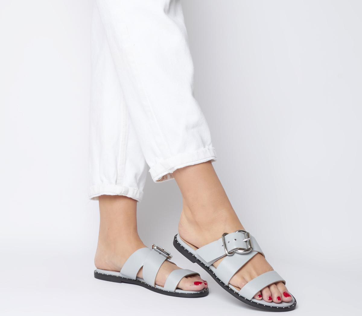Samara Buckle Cross Strap Sandals