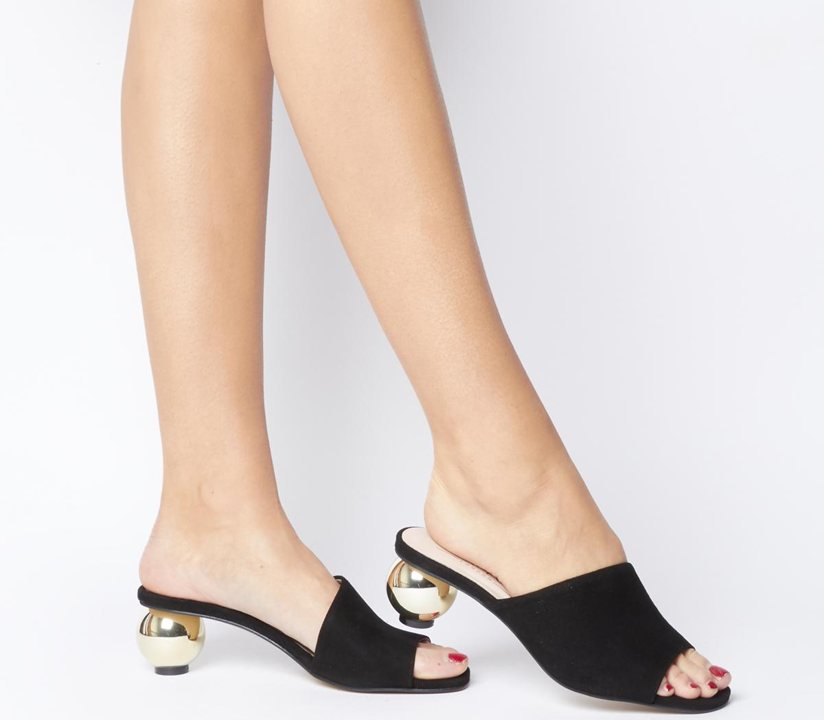 Missile Feature Heel Mules