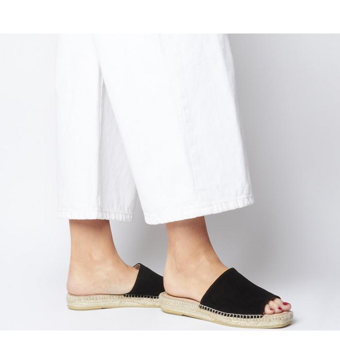 Gaimo for OFFICE Gaimo for OFFICE Gladis Square Toe Mule BLACK SUEDE