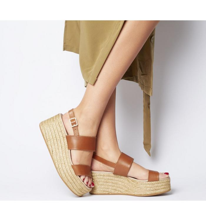 Gaimo for OFFICE Gaimo for OFFICE Sarty Sandal TAN