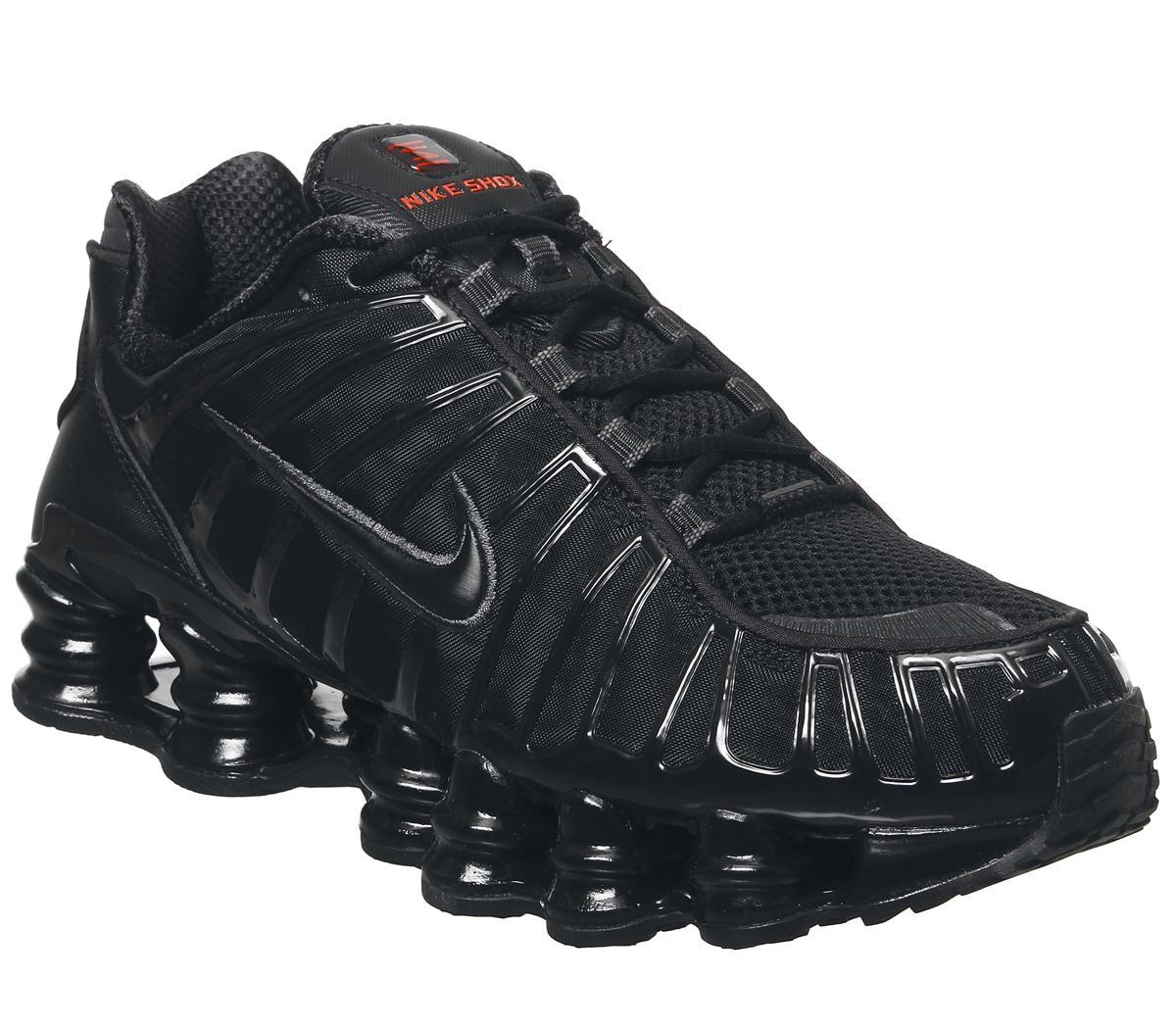 nike trainers in black