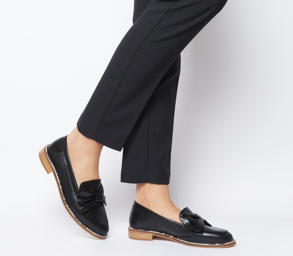 Forum Snake Rand Bow Loafers