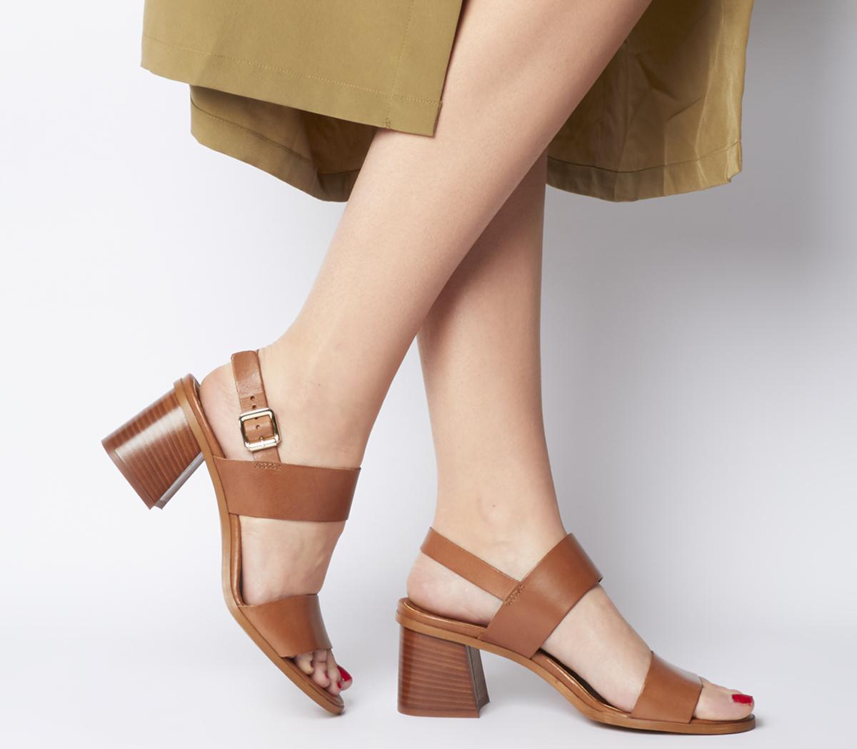 Platform Block Heels - Heel Direct