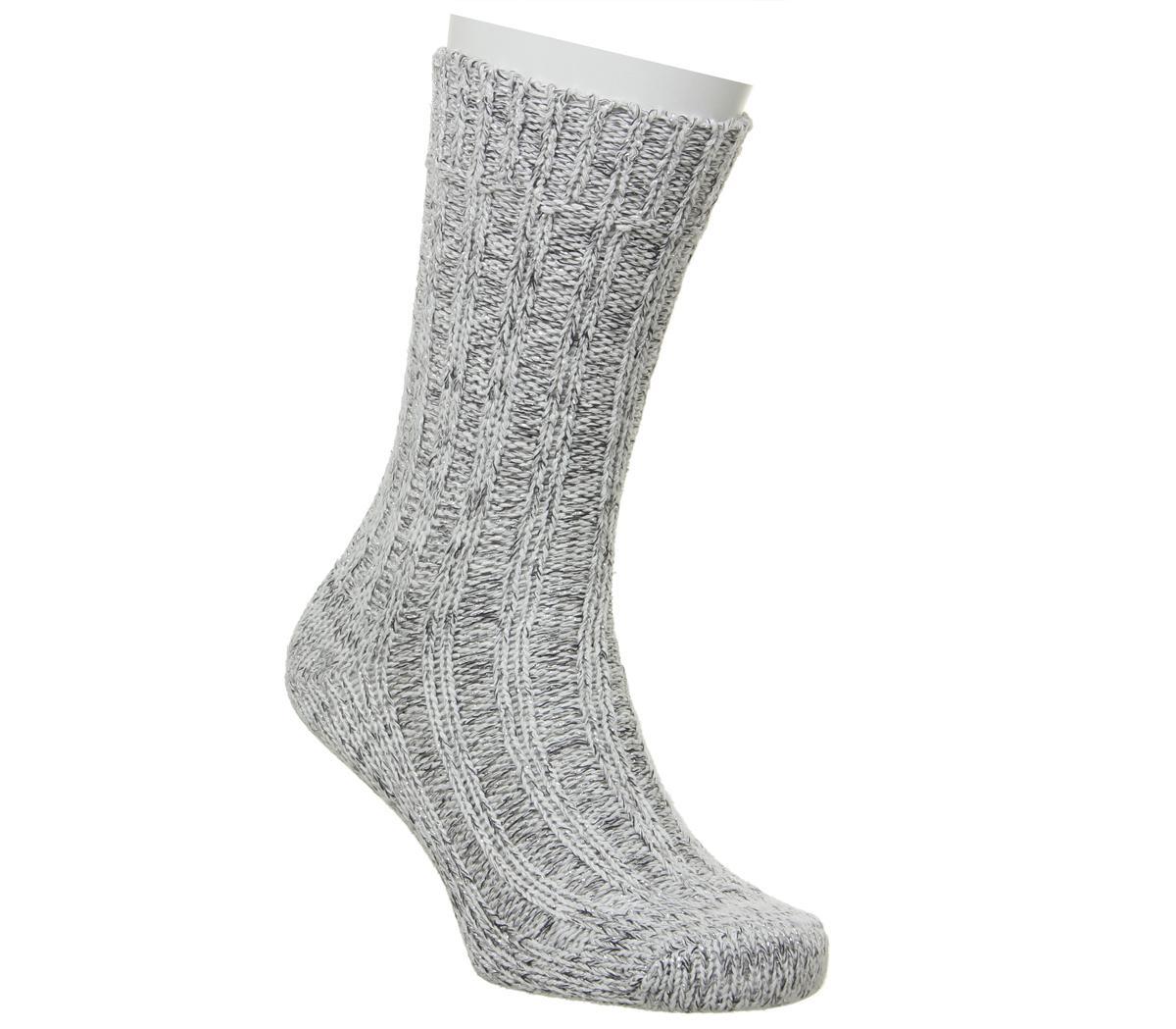 Bling Black Socks
