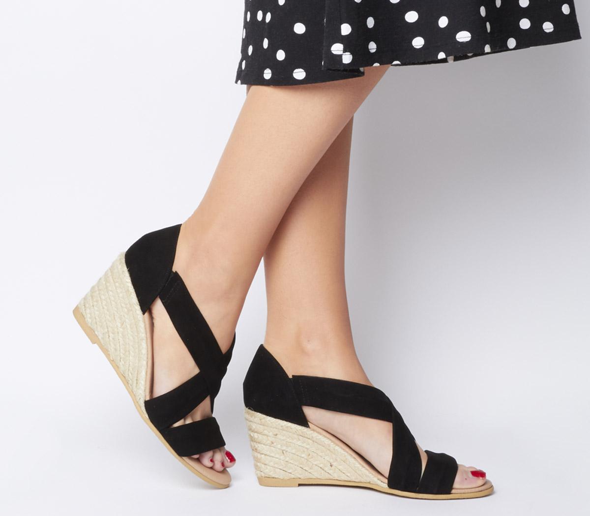 Maiden Wedge Heels - Wide Fit