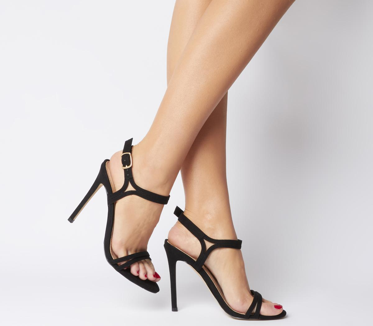 Hot Cake Strappy Sandals - Wide Fit