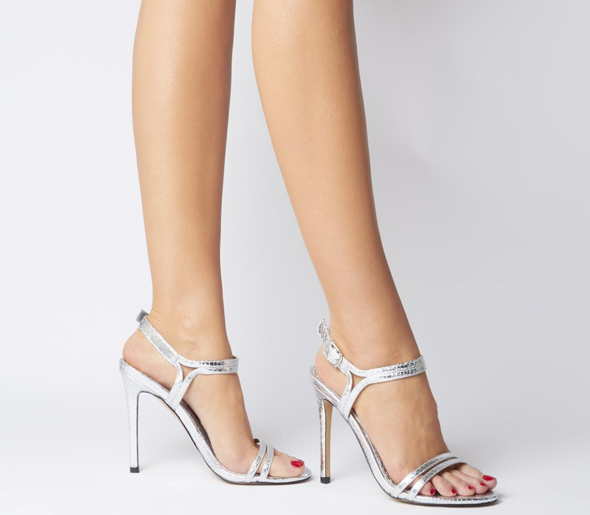 Office Hot Cake Strappy Sandals - Wide