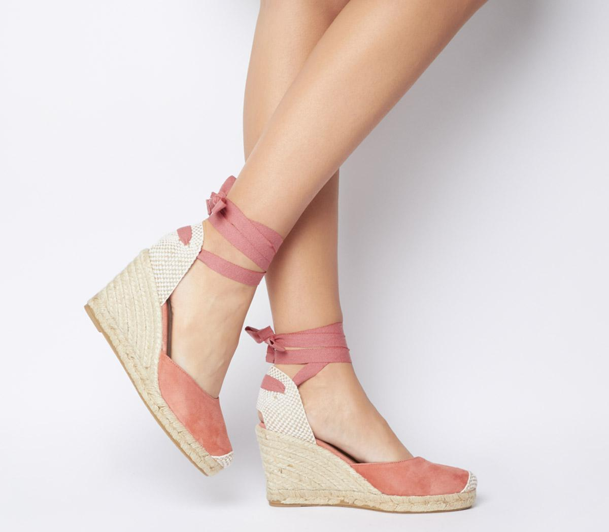 Marmalade Espadrille Wedges - Wide Fit