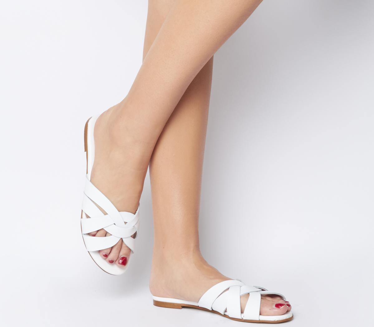 Office Saffron Mule Sandals - Wide Fit
