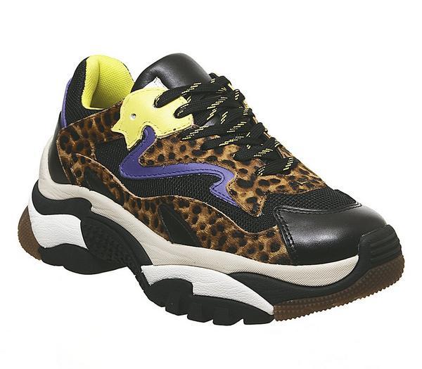 Ash Addict Trainers Leopard - Flats UCVeud2