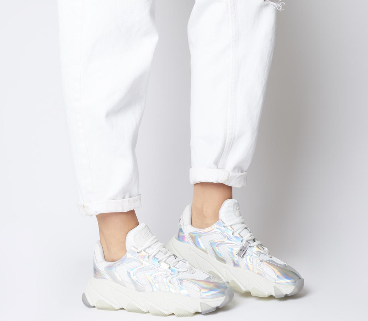 Ash Extreme Trainers Silver White - Flats