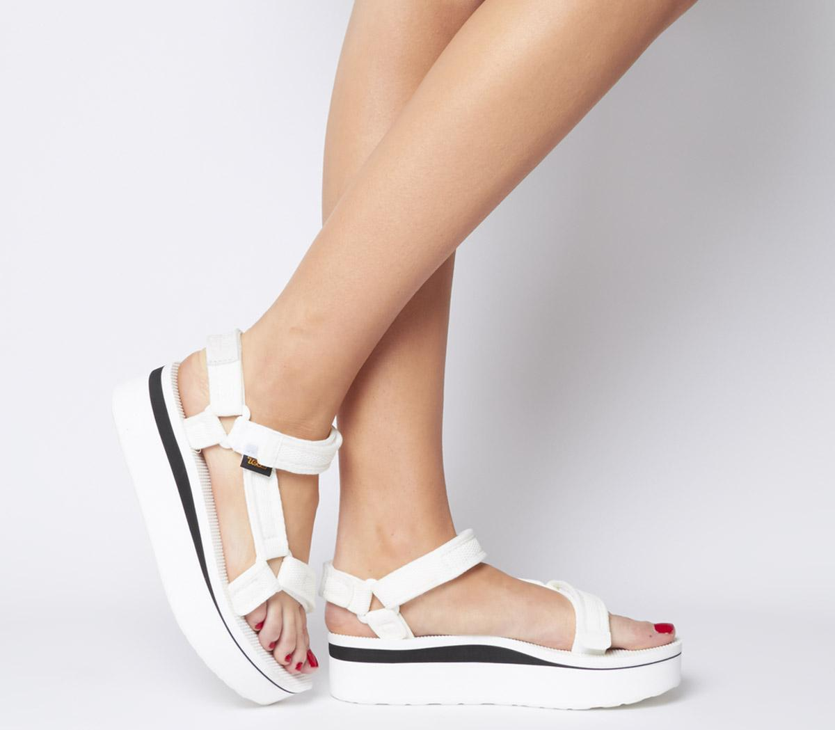 Teva Flatform Universal White - Sandals