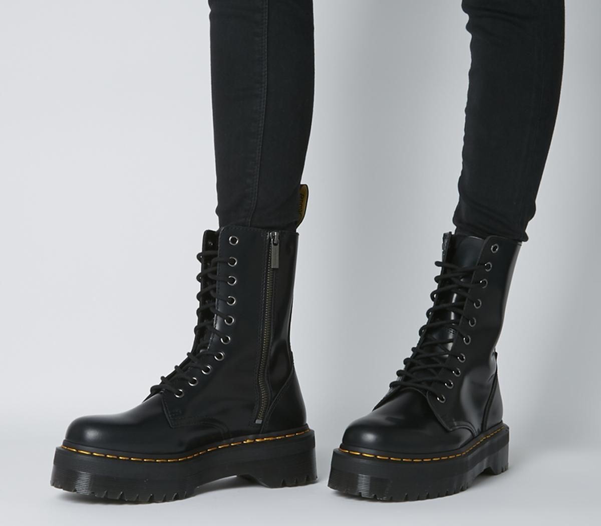 Dr. Martens Jadon Hi Boots Black