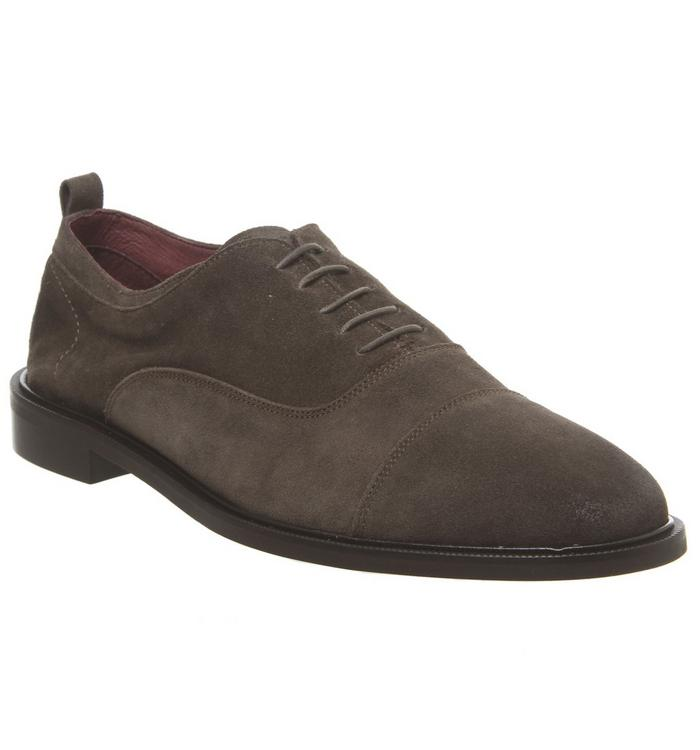 Poste Poste Lucas Oxford TAUPE SUEDE