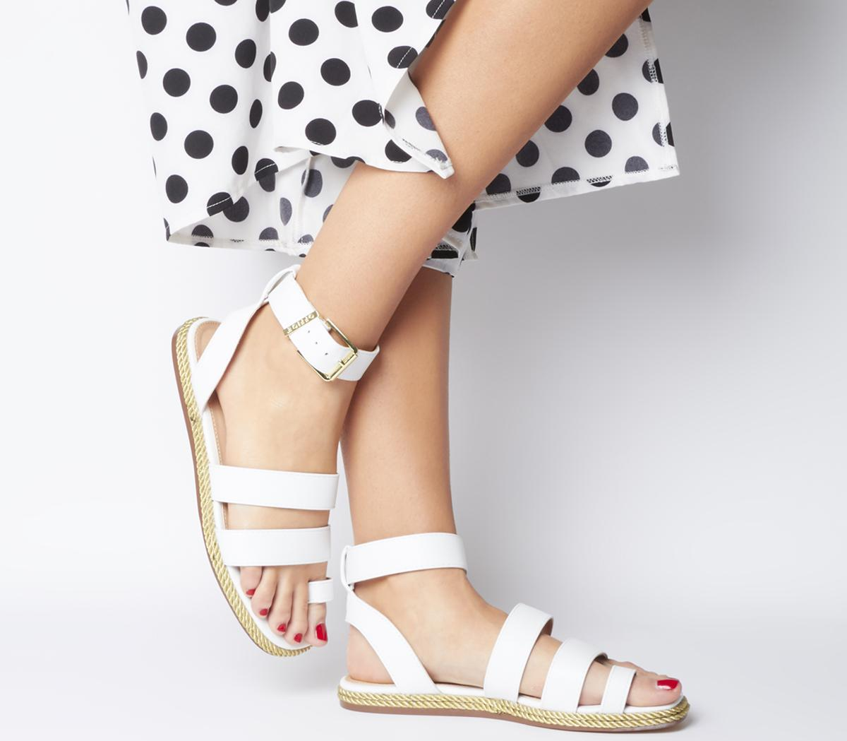 Sunny Rope Sole Sandals
