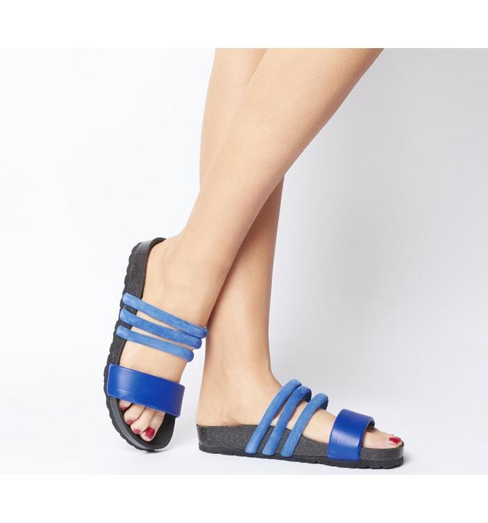Shoe the Bear Shoe the Bear Cara Puff Sandal BLUE